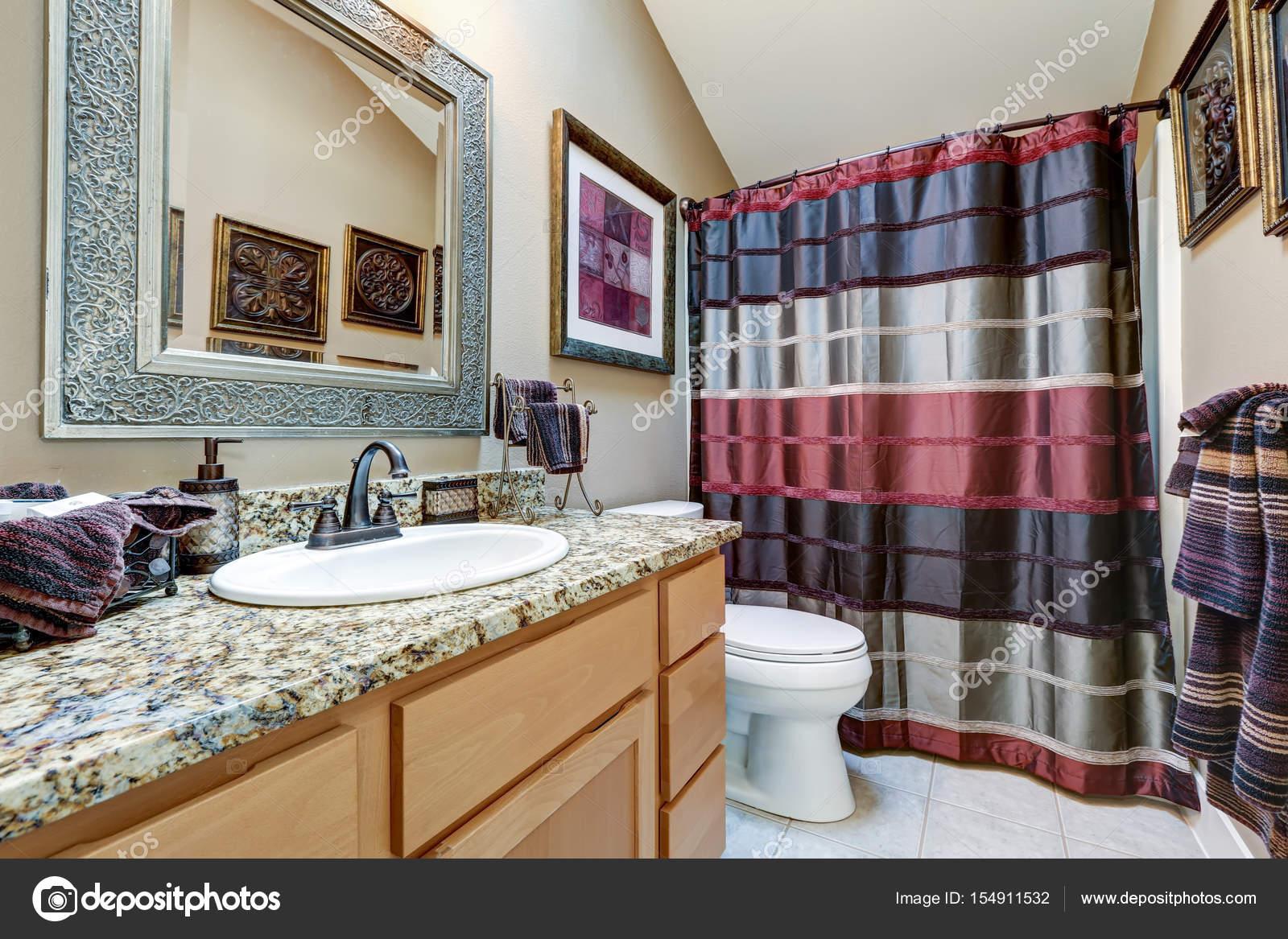 Chique Badkamer Ontwerp : Ontwerpeigenschappen chique badkamer ijdelheid kabinet met graniet