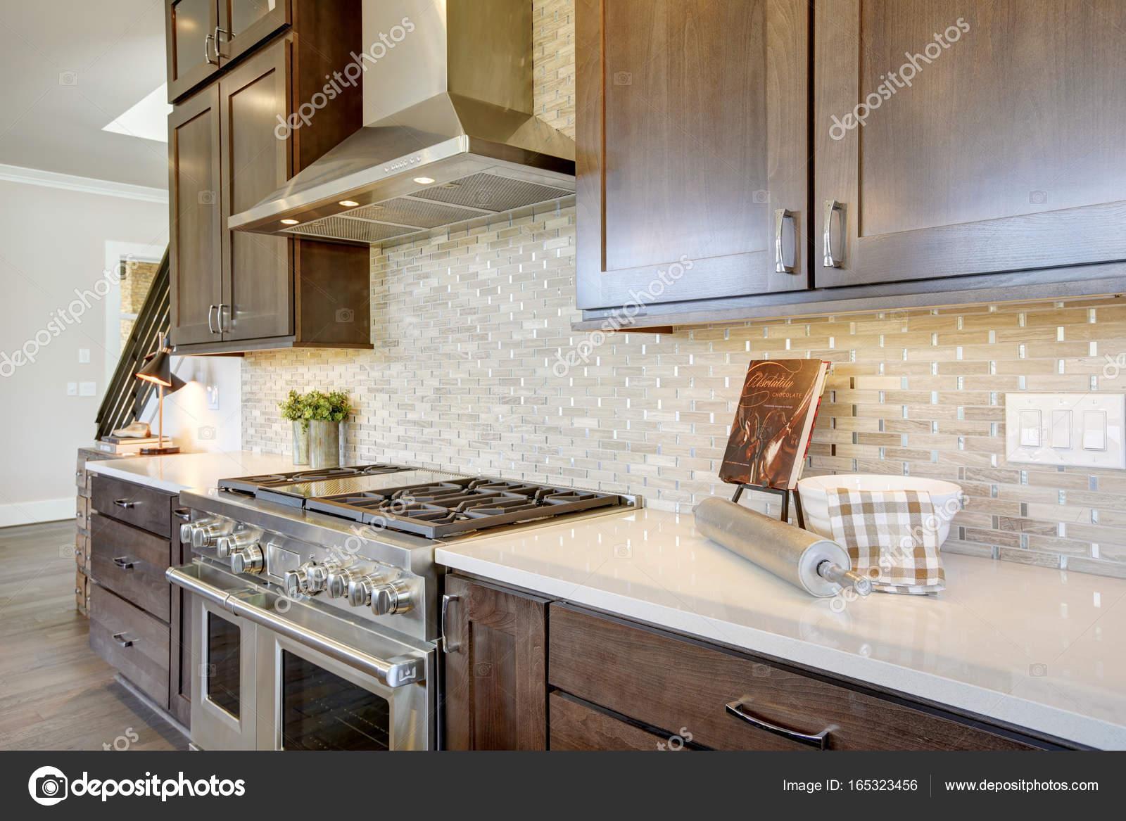 Impressing Luxus Küche Collection Of -küche In Einem — Stockfoto