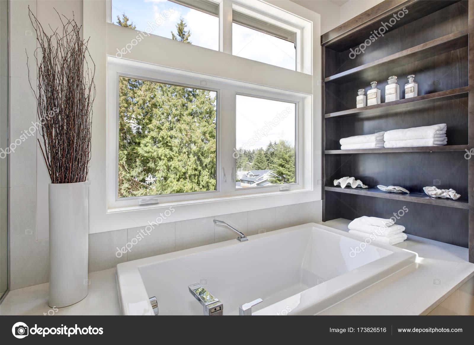 Bathroom interior with a drop in tub. — Stock Photo © iriana88w ...