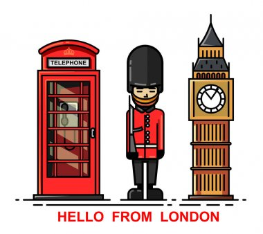 set of London city