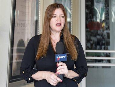 TV Marti journalist,Miami, Florida, United States