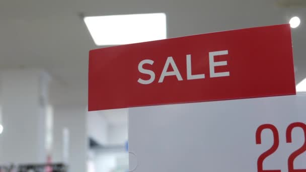 Uzavřít prodej přihlášení během horké nákupní sezóny uvnitř sears obchod