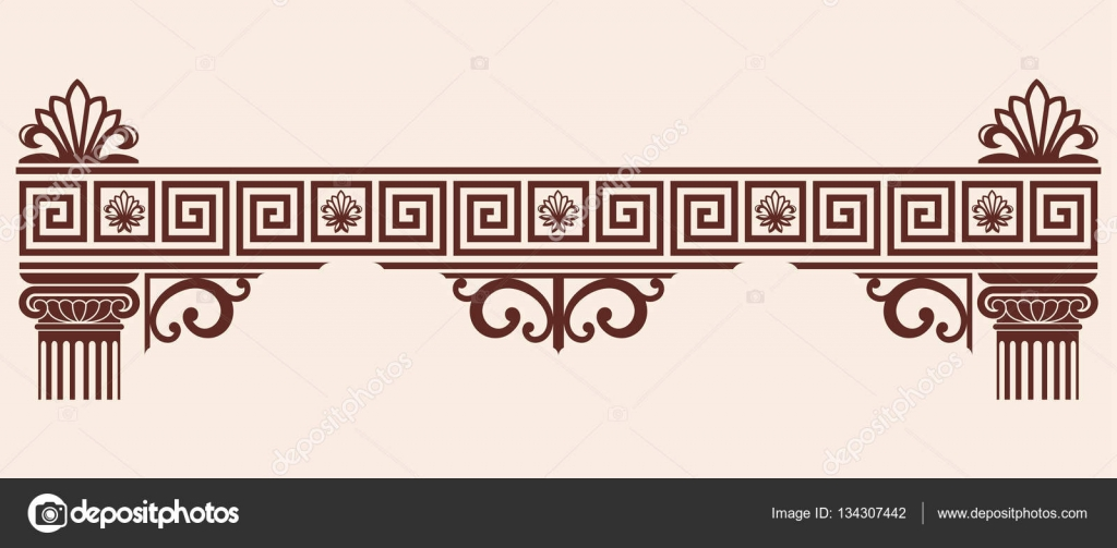 картинки греческий орнамент