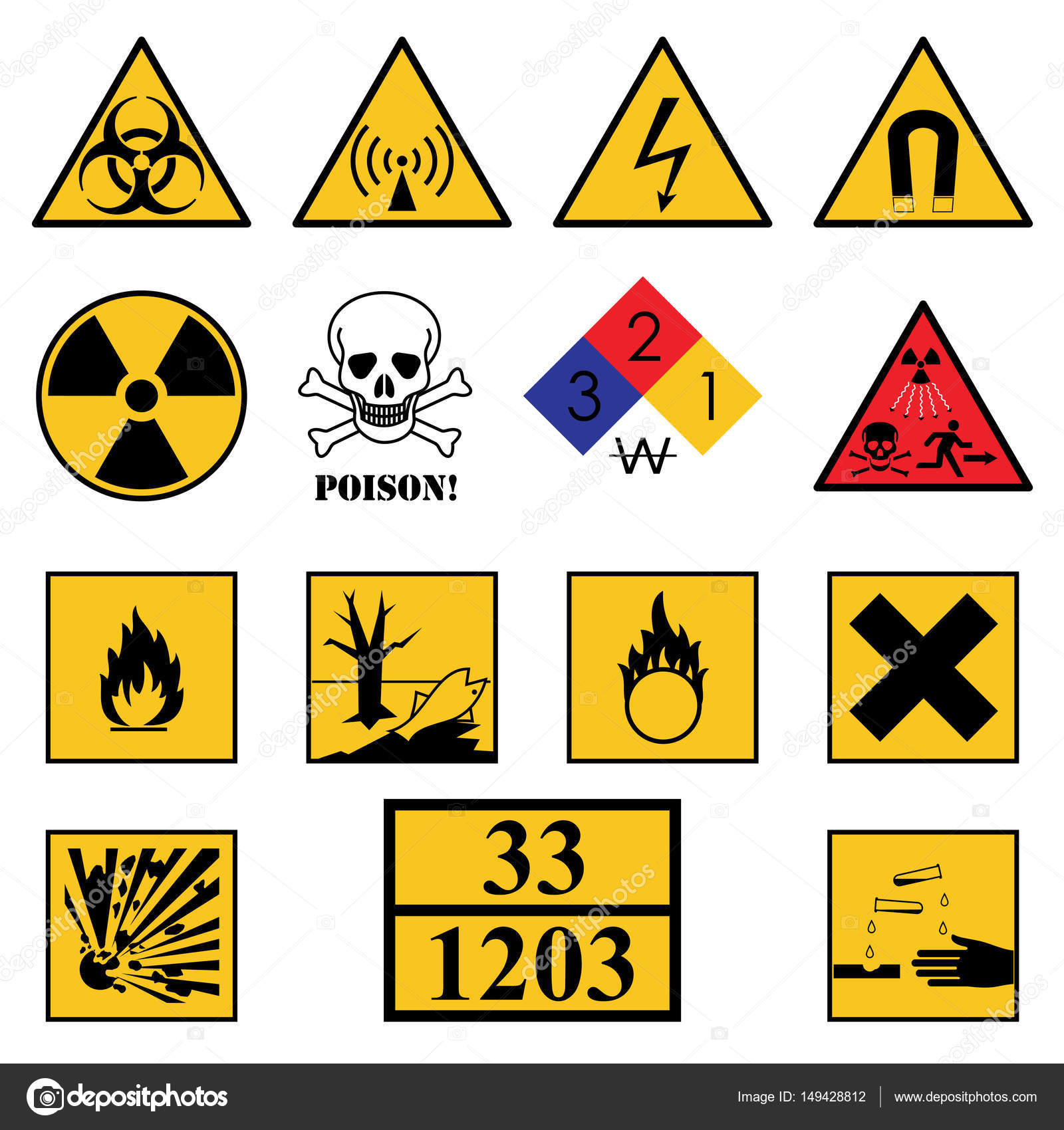 Laser warning signs stock vectors royalty free laser warning warning hazard signs vector graphics biocorpaavc Image collections
