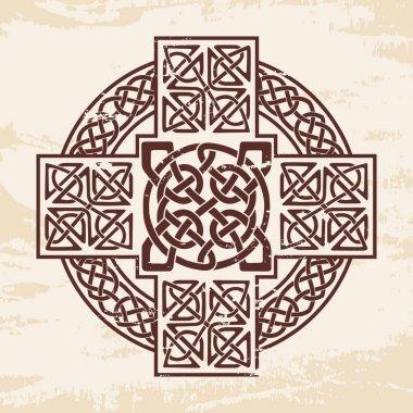 Celtic national ornaments.