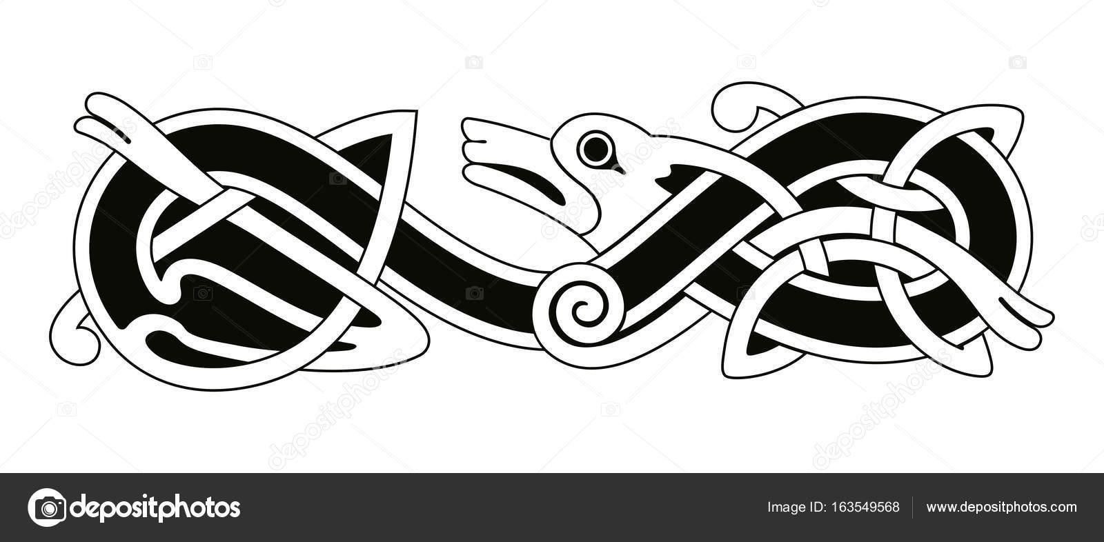 Nacional de dibujo celta — Archivo Imágenes Vectoriales © migfoto ...