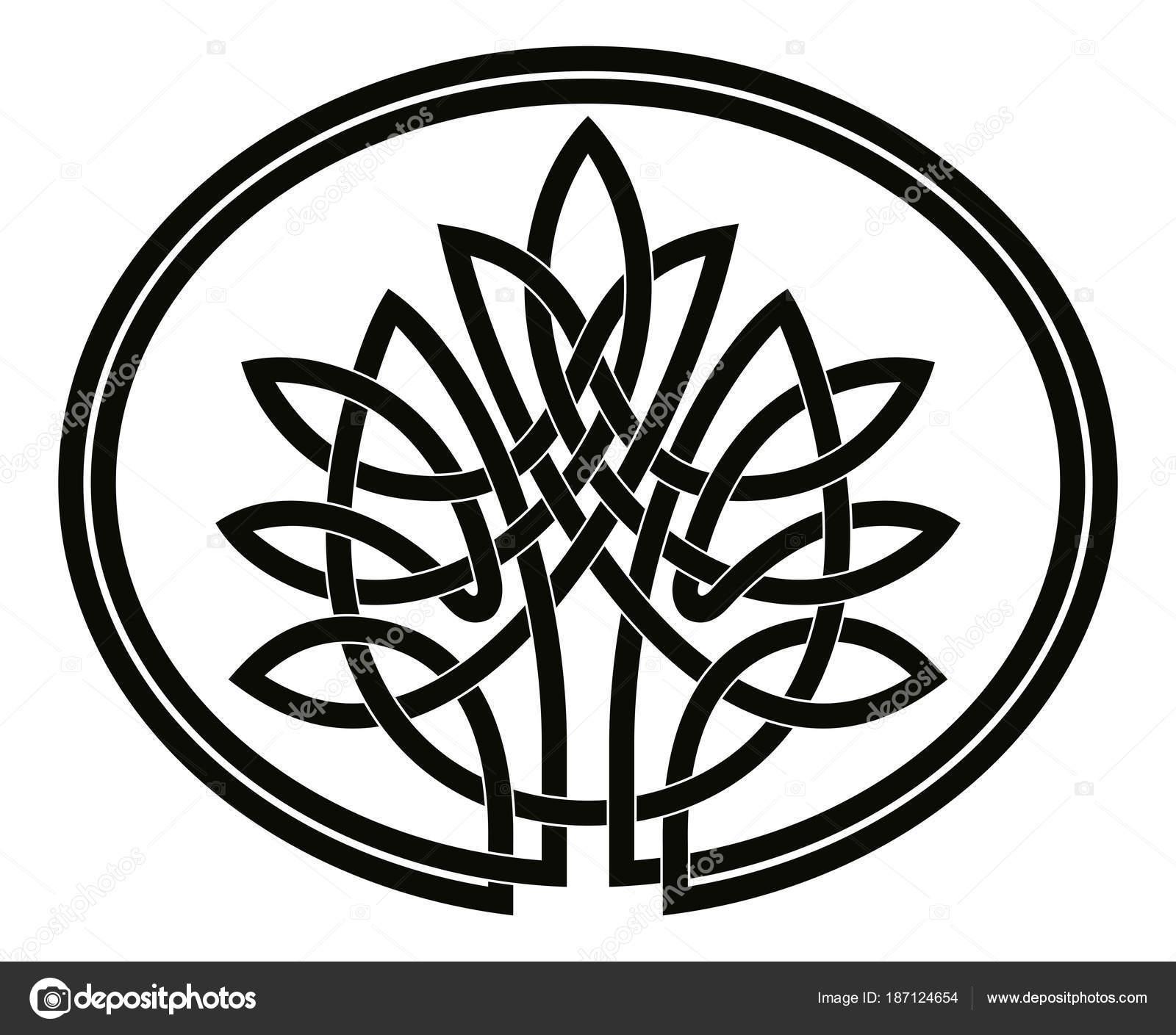 Dibujos Dibujo Del Arbol De La Vida árbol Celta De La Vida
