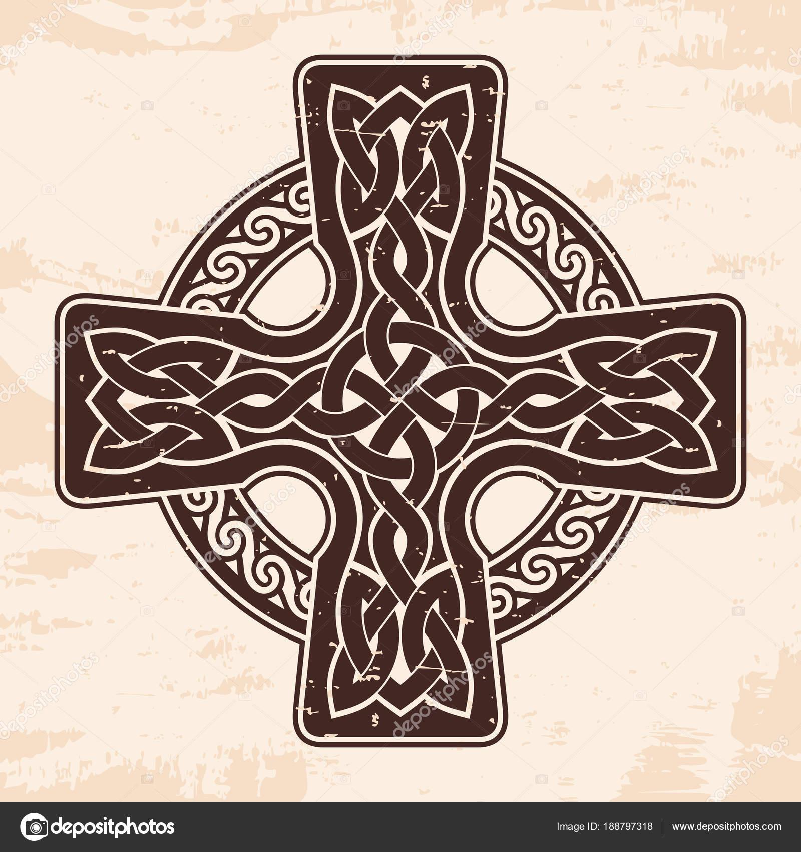 Cruz celta — Vector de stock © migfoto #188797318
