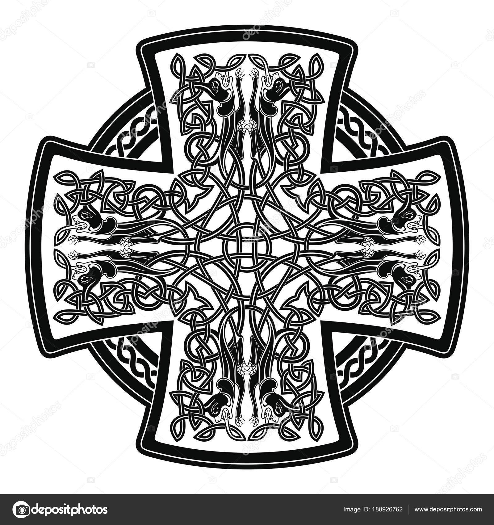 Cruz celta — Vector de stock © migfoto #188926762