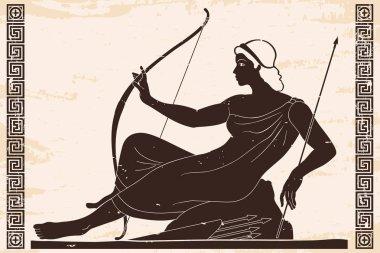 Ancient Greek drawing.