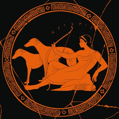 Greek goddess Artemis.