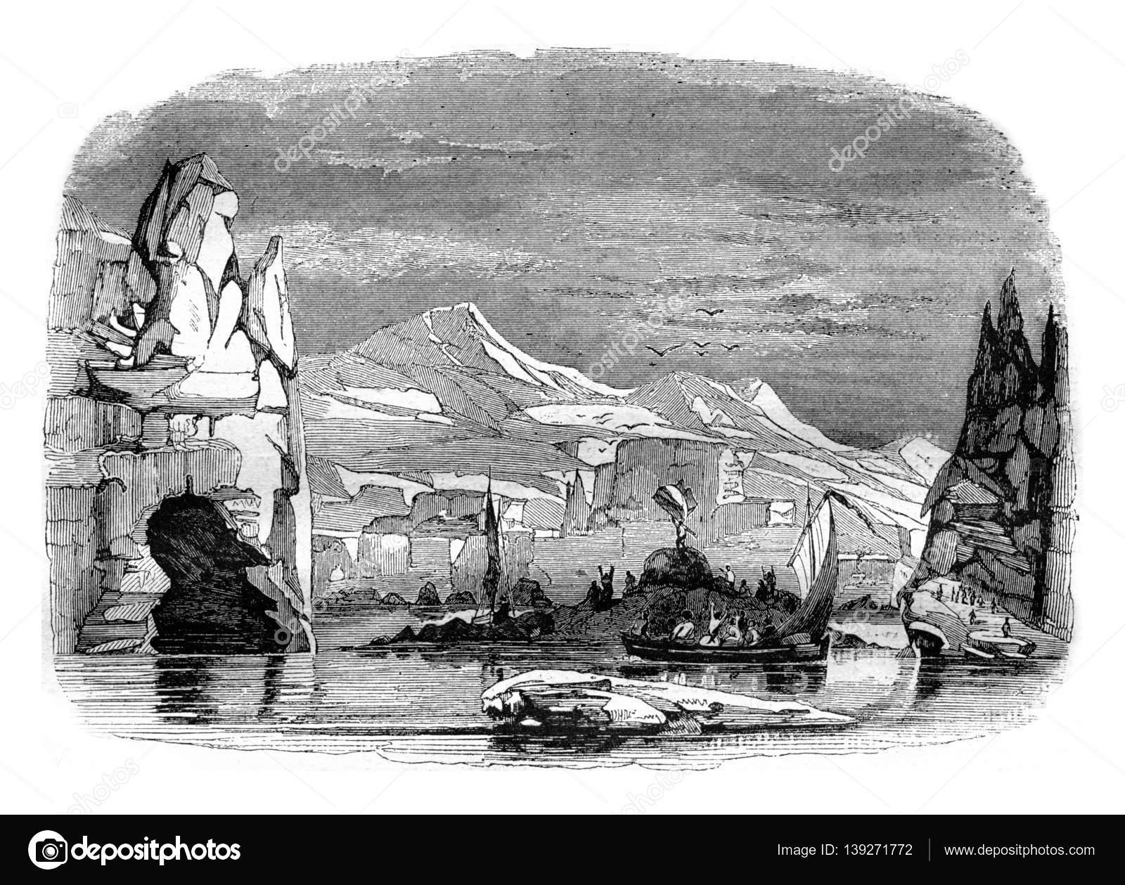 アデリー、発見 1840 年 2 月 21...