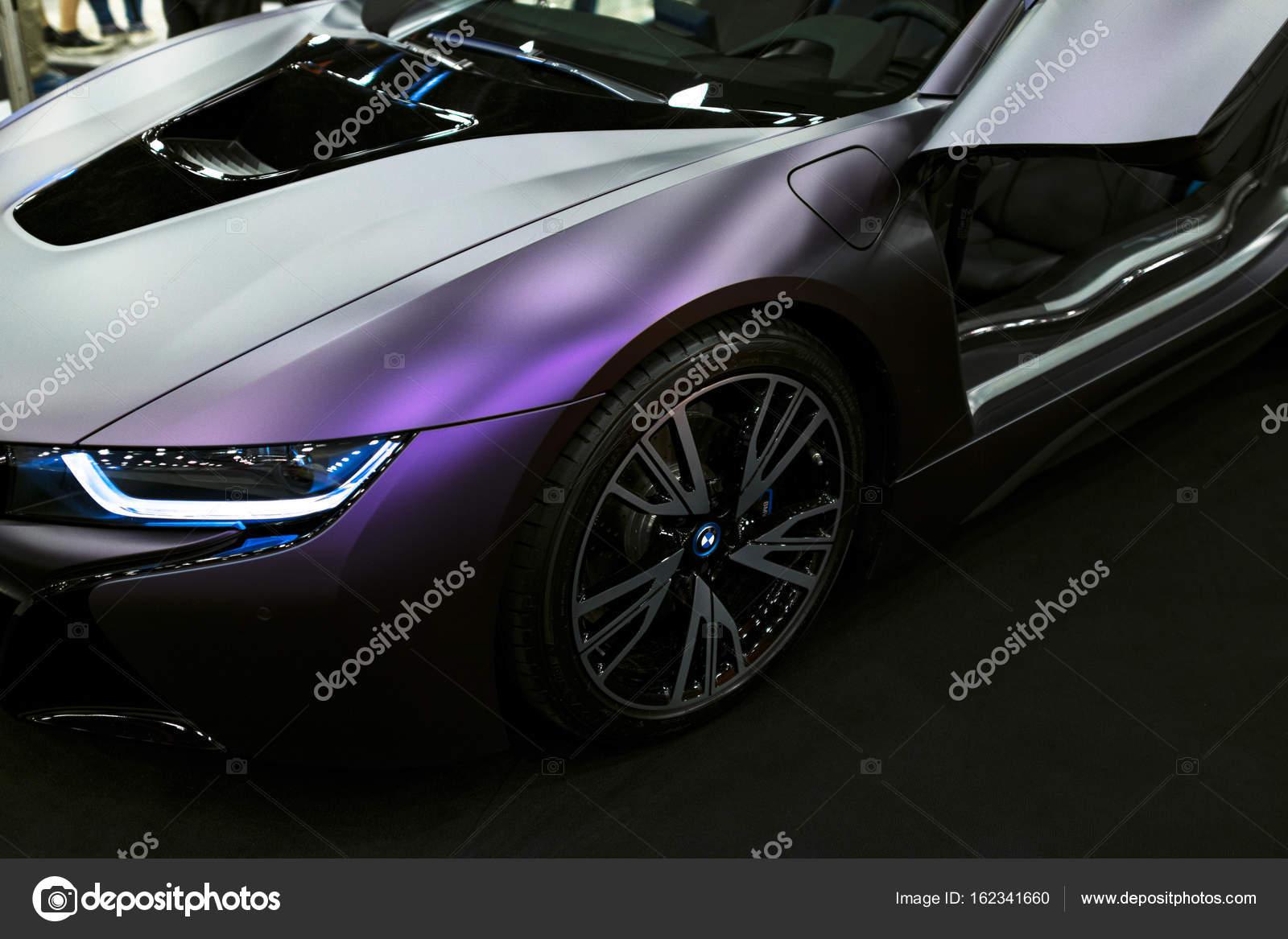 Luxe Bmw I8 Hybride Elektrische Coupe Plug In Hybride Sportwagen
