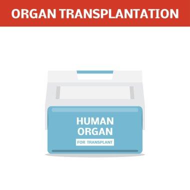box for human organs transportation