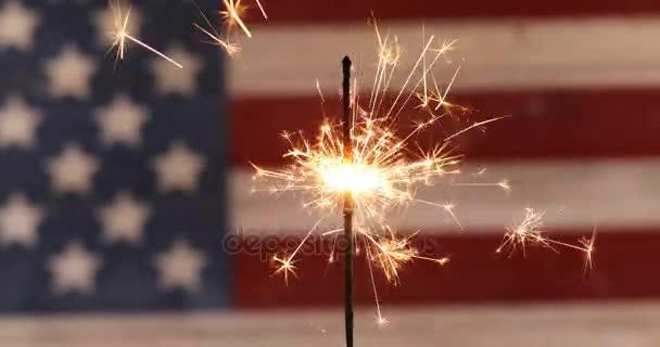 Sparkler for Independence Day