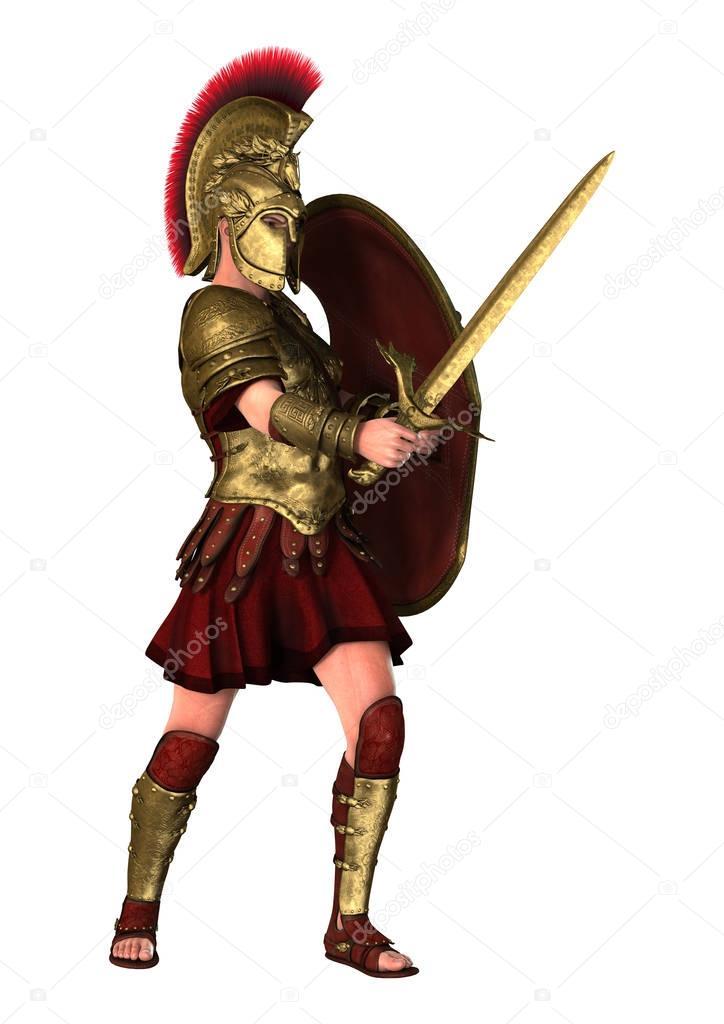 Spartanischer Krieger