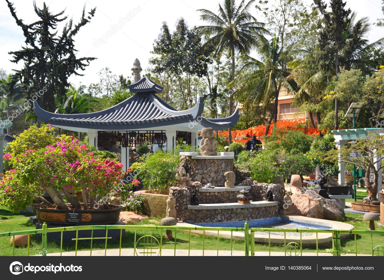 Asiatischer Garten In Indien Stockfoto C Arevhamb 140385064
