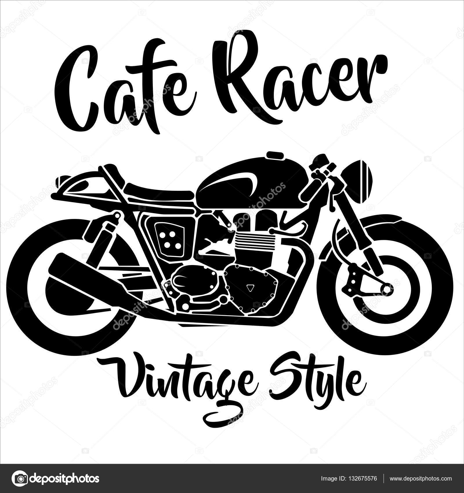 Cafe Racer Vector Free Download