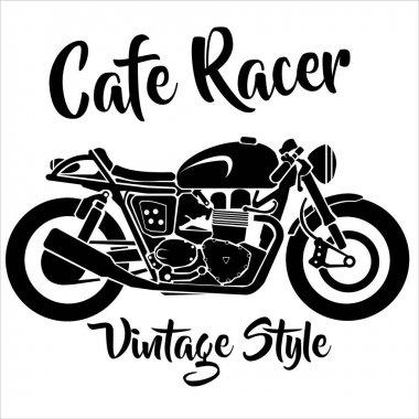 vector image motorcycle
