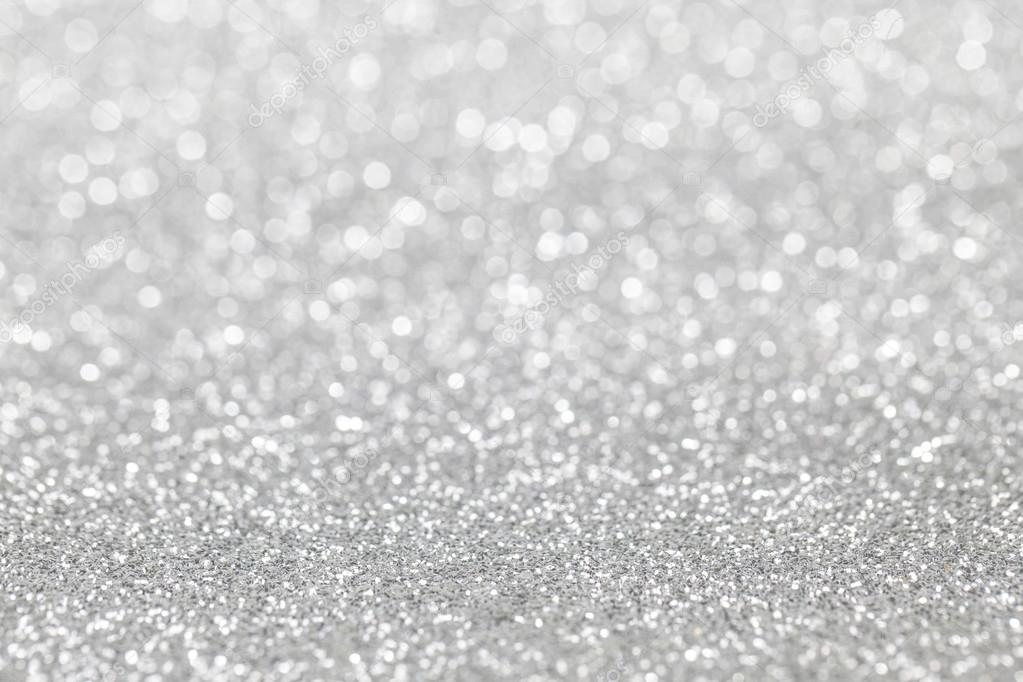 Awesome Abstract Silver Glitter Background U2014 Stock Photo