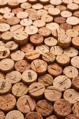 Wooden wine corks