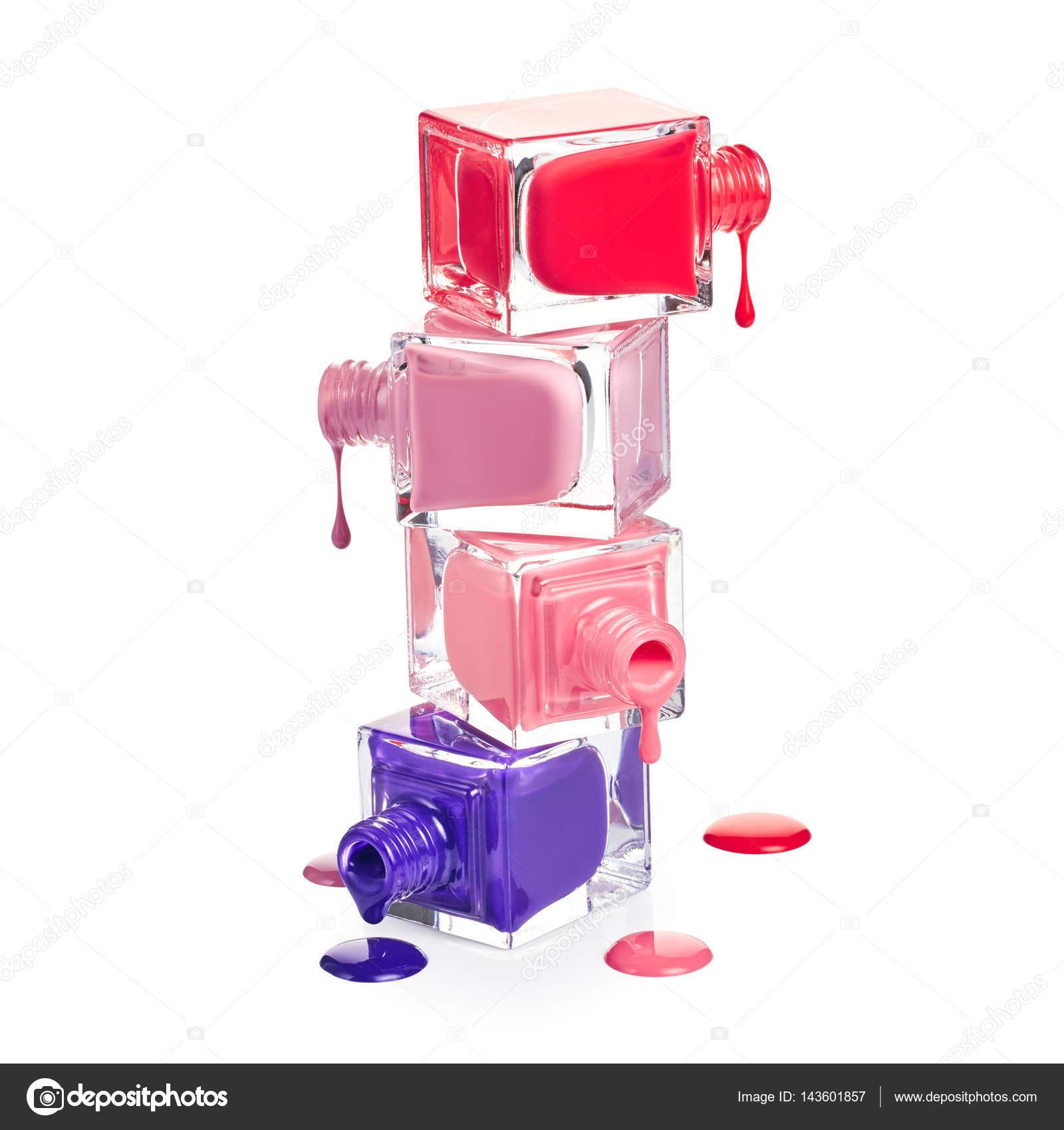 Stack of nail polish — Stock Photo © Nik_Merkulov #143601857