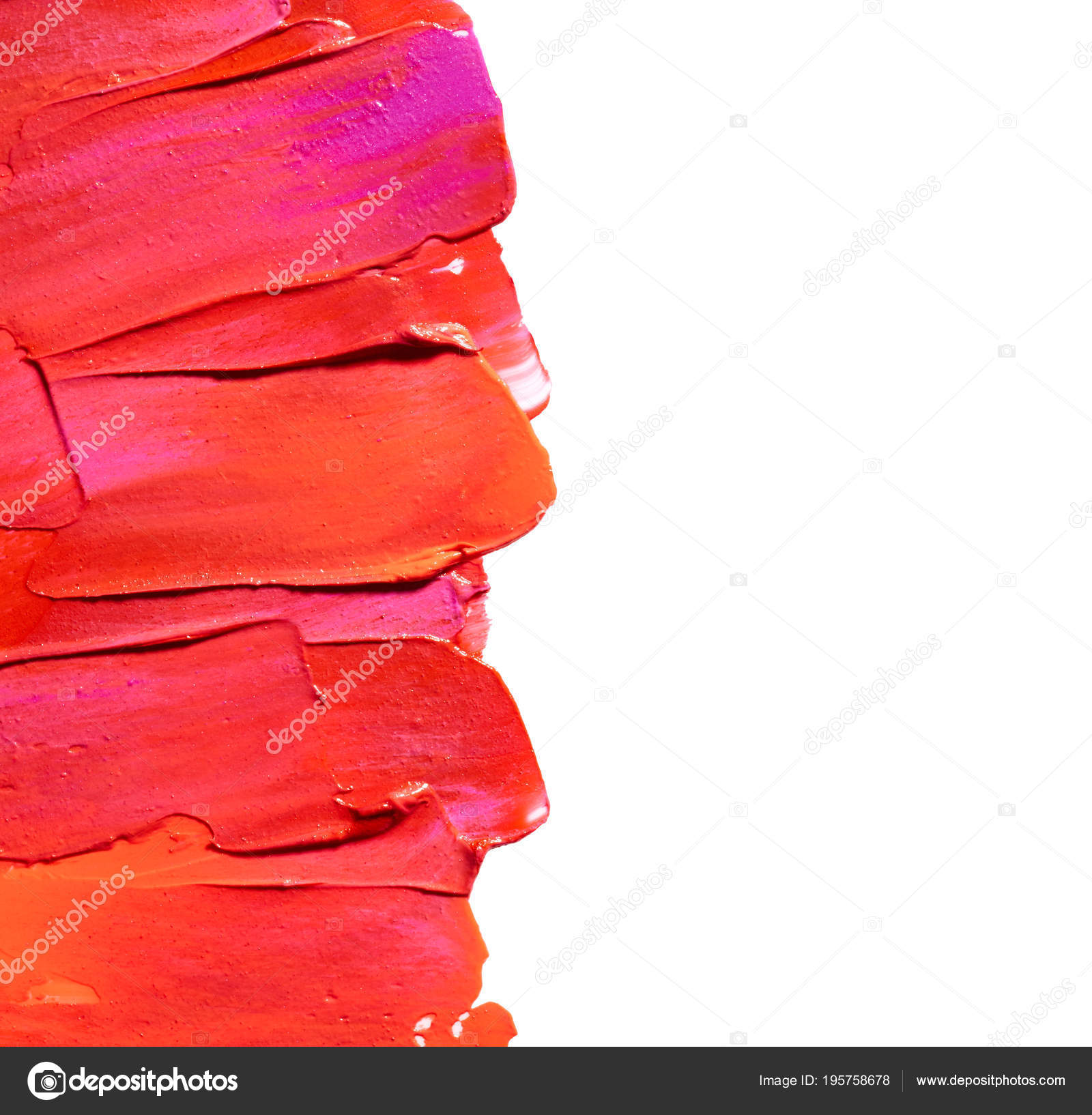 Makeup Wallpaper Iphone Frame Lipstick Isolated White