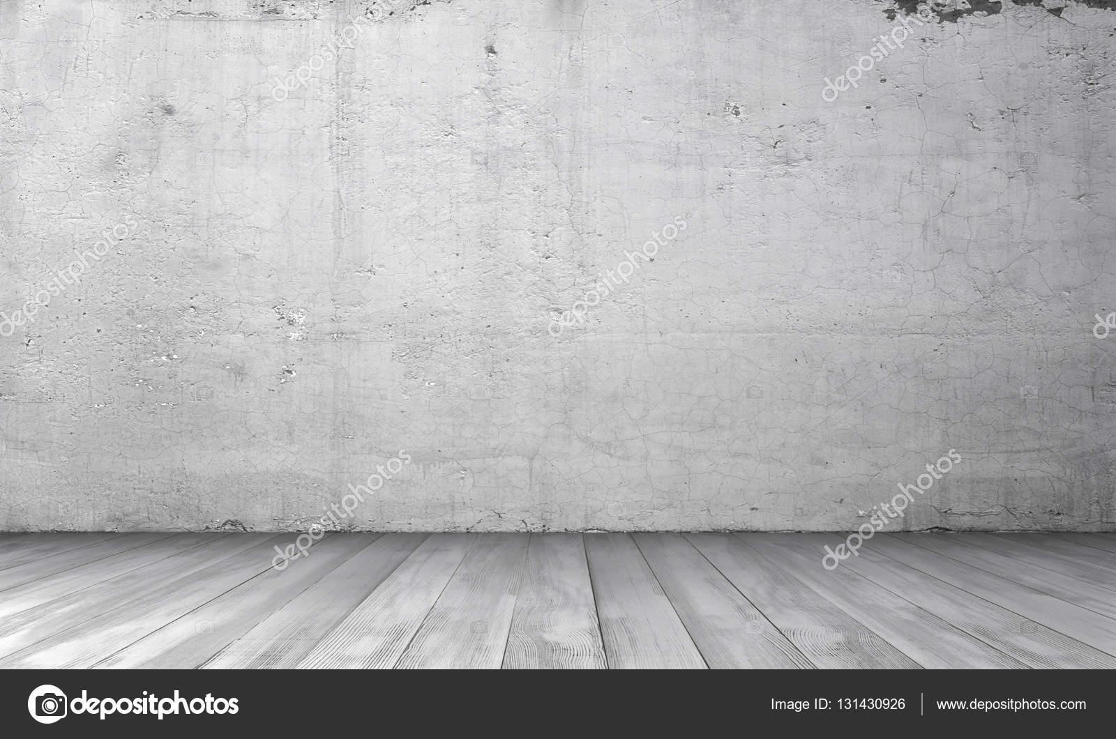 Representaci n de interior con muro de hormig n blanco y for Suelo 3d blanco