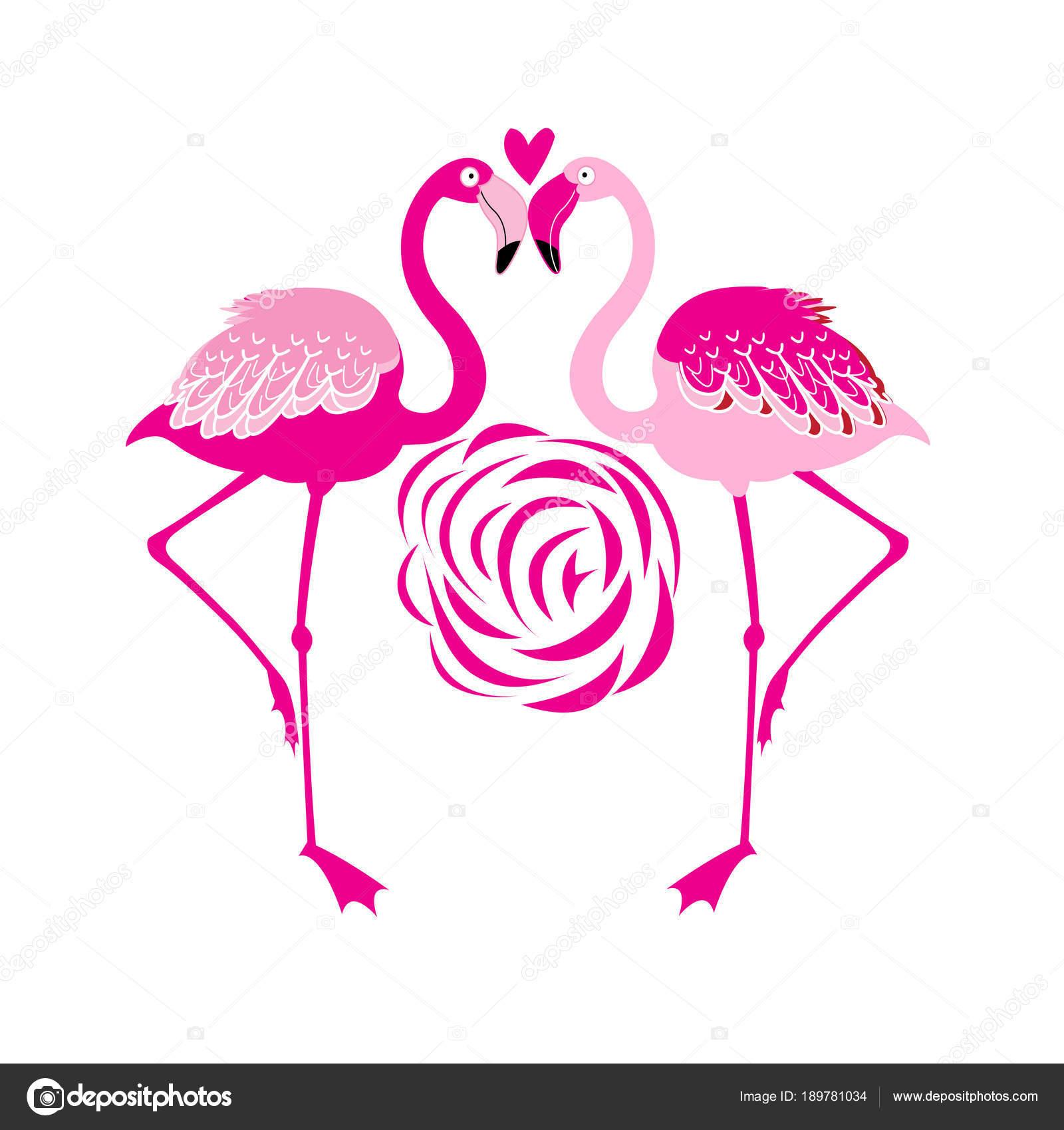 illustration vectorielle d un flamant rose amoureux image vectorielle tanor 189781034. Black Bedroom Furniture Sets. Home Design Ideas