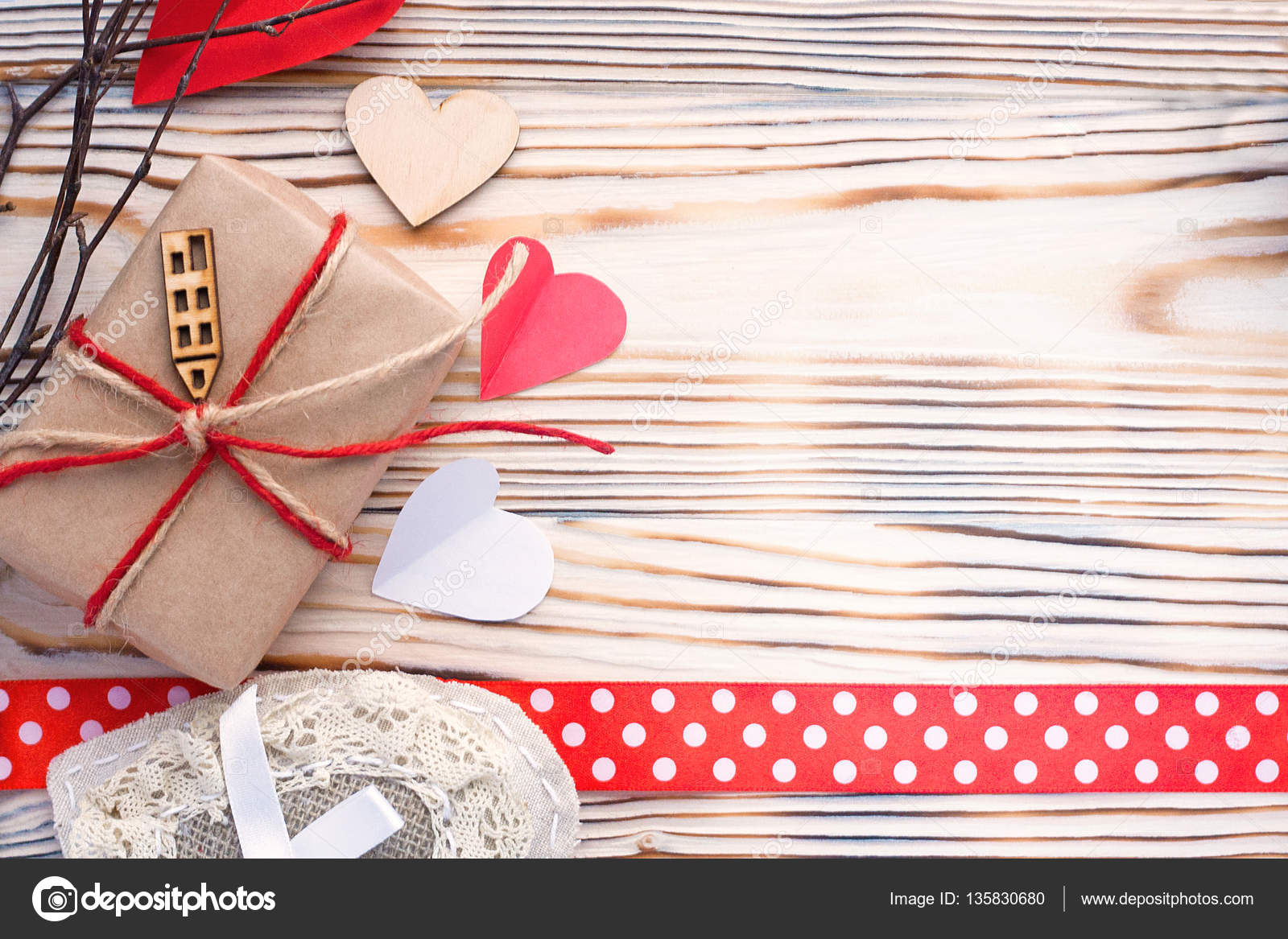 Eco pack present with wooden hearts happy birthday love card eco pack present with wooden hearts happy birthday love card background stock photo bookmarktalkfo Image collections