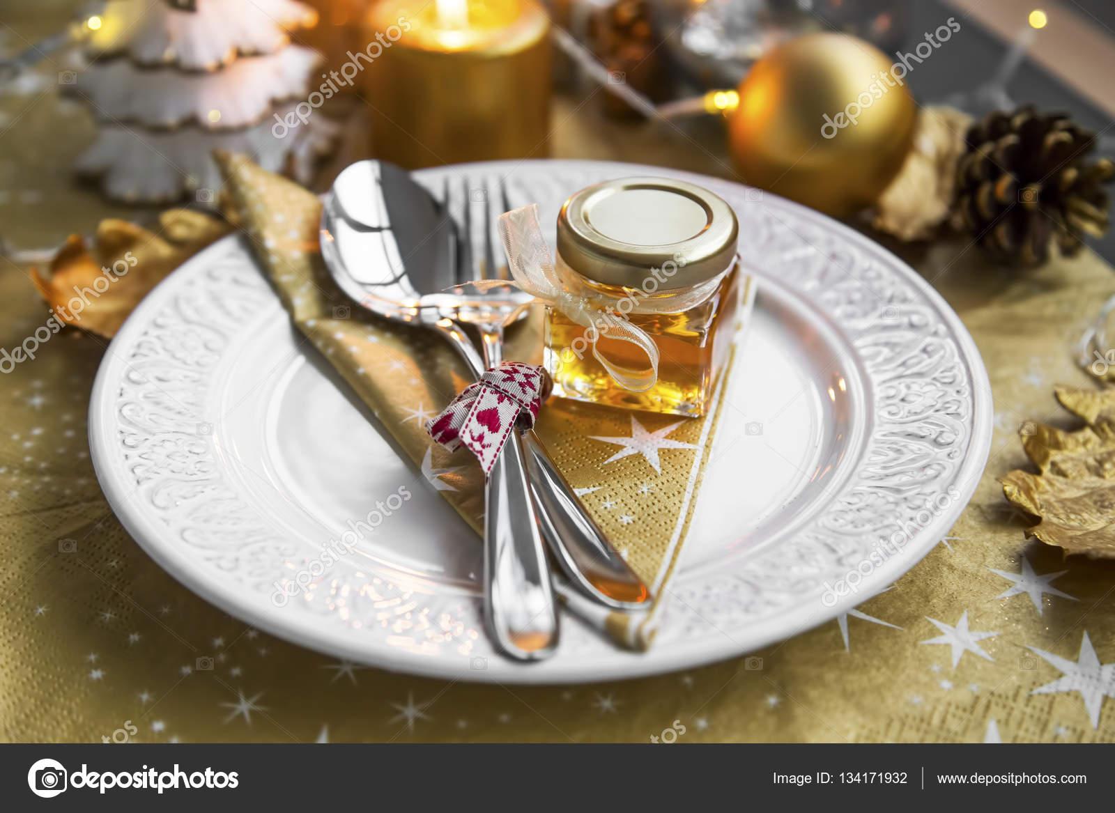 Cadeaux de table pour invites noel