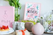 Mothers Day card and presents