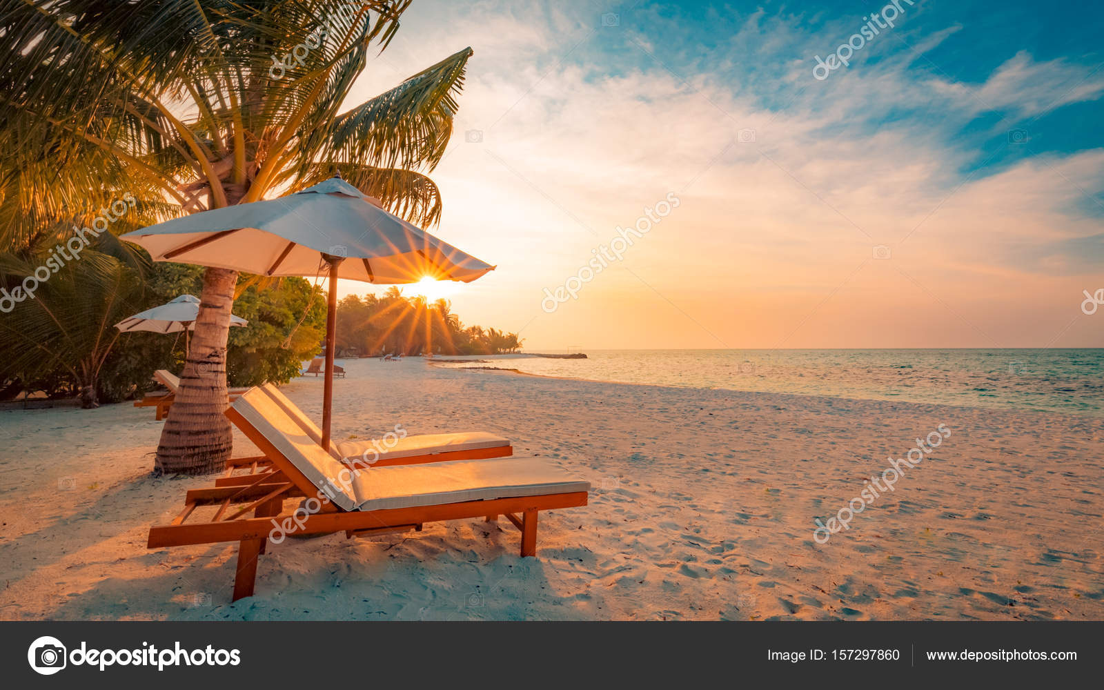 Beach background beautiful beach landscape tropical nature scene beach background beautiful beach landscape tropical nature scene palm trees and blue sky voltagebd Images