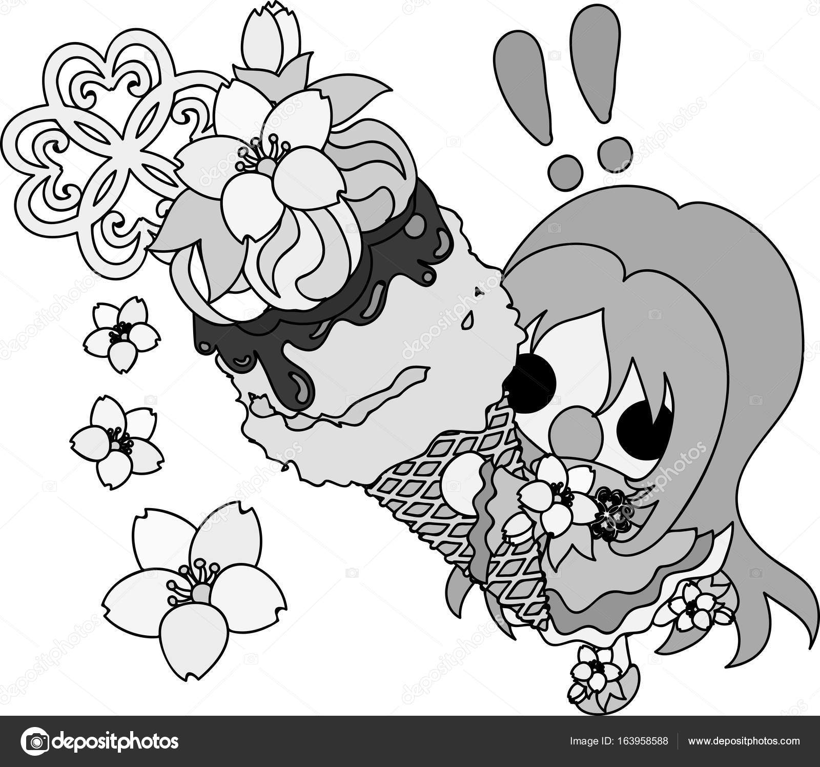 552a0057fa8be7 Najlepszy wybór] Kwiat Wiśni Kolorowanka - Kolorowanki Dla Dzieci