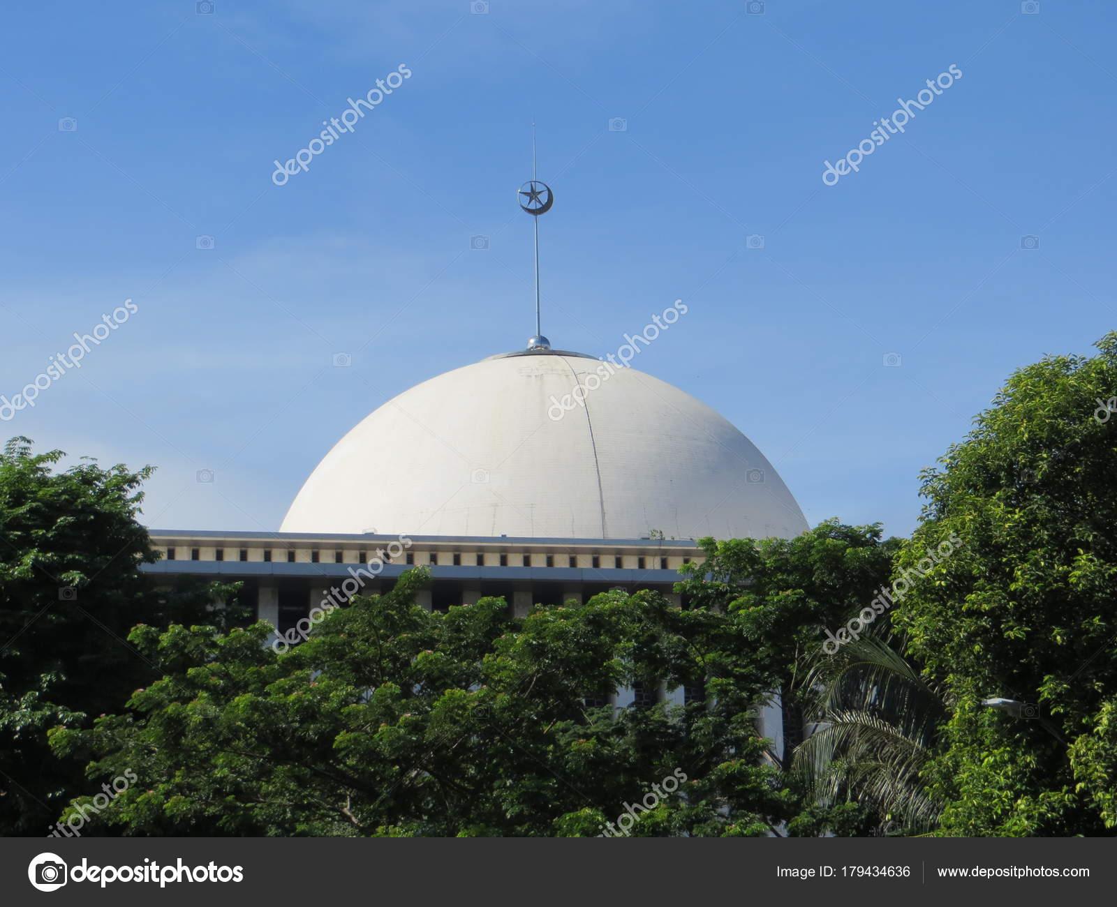 Jakarta Indonesia December 2017 Istiqlal Mosque Masjid Istiqlal