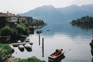 Beautiful peaceful Como Lake