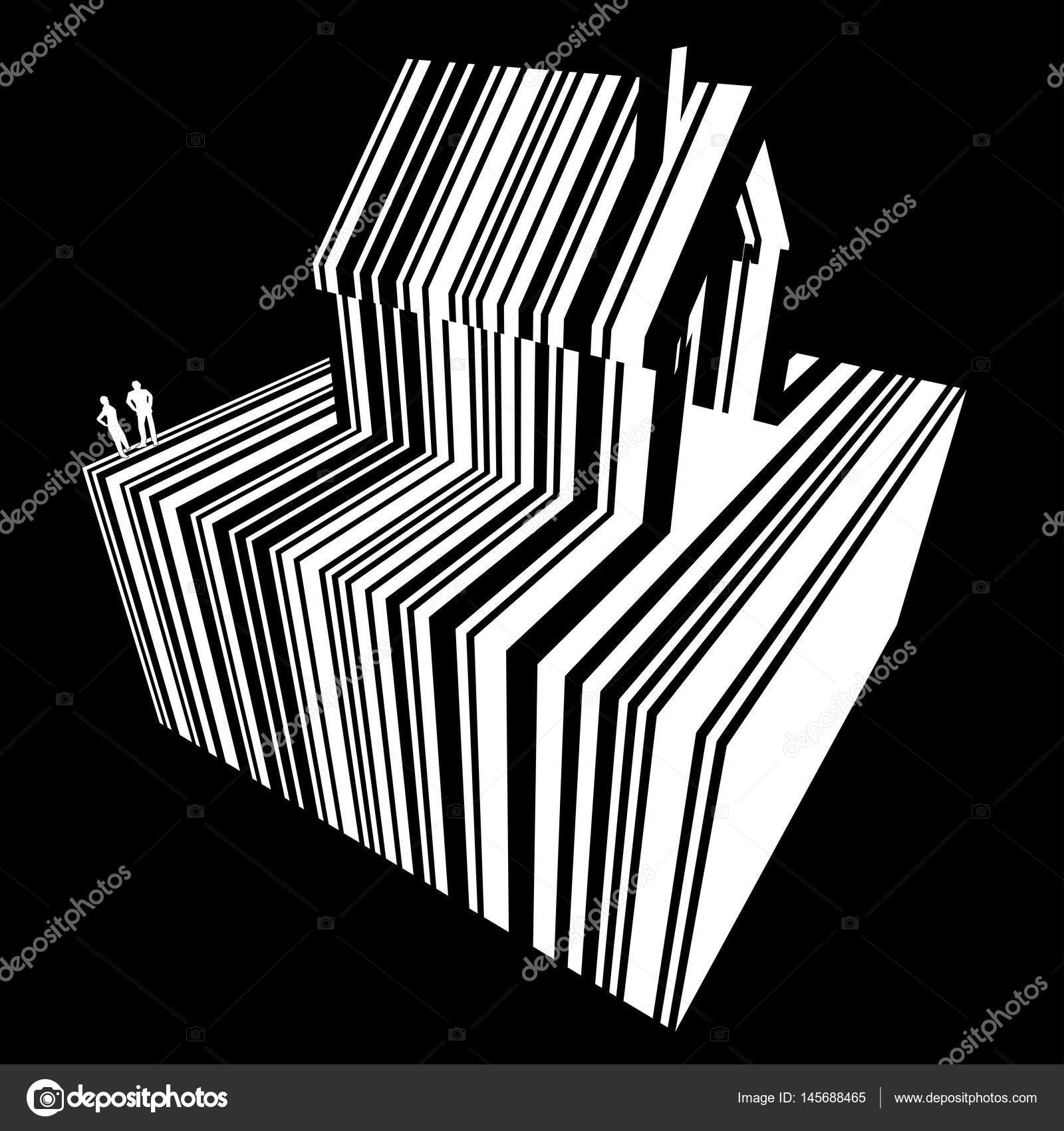 Barcode-Haus-Diagramm — Stockvektor © valigursky #145688465