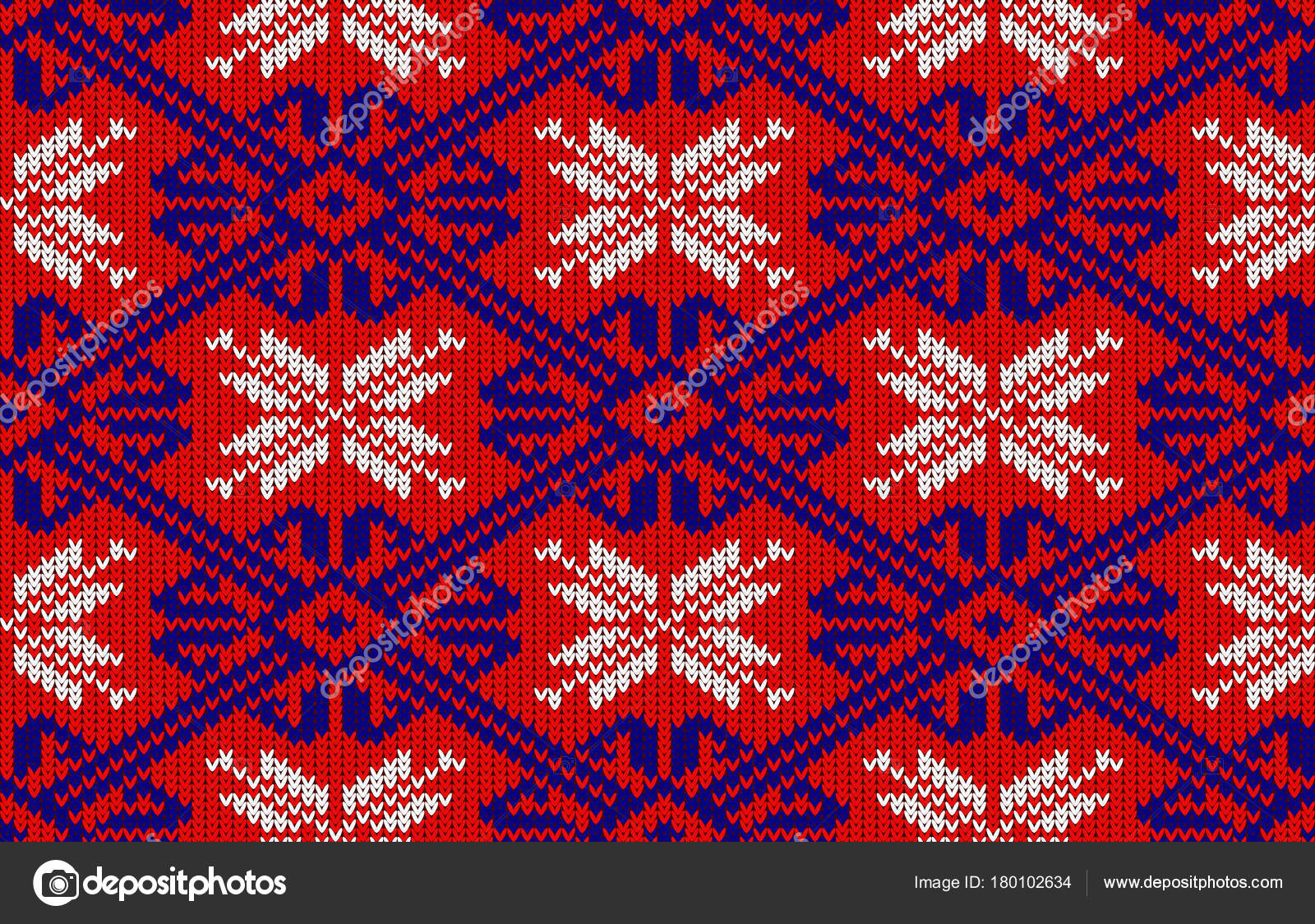Patrón Punto Con Copos Nieve Colores Nacionales Noruega Patrón Punto ...