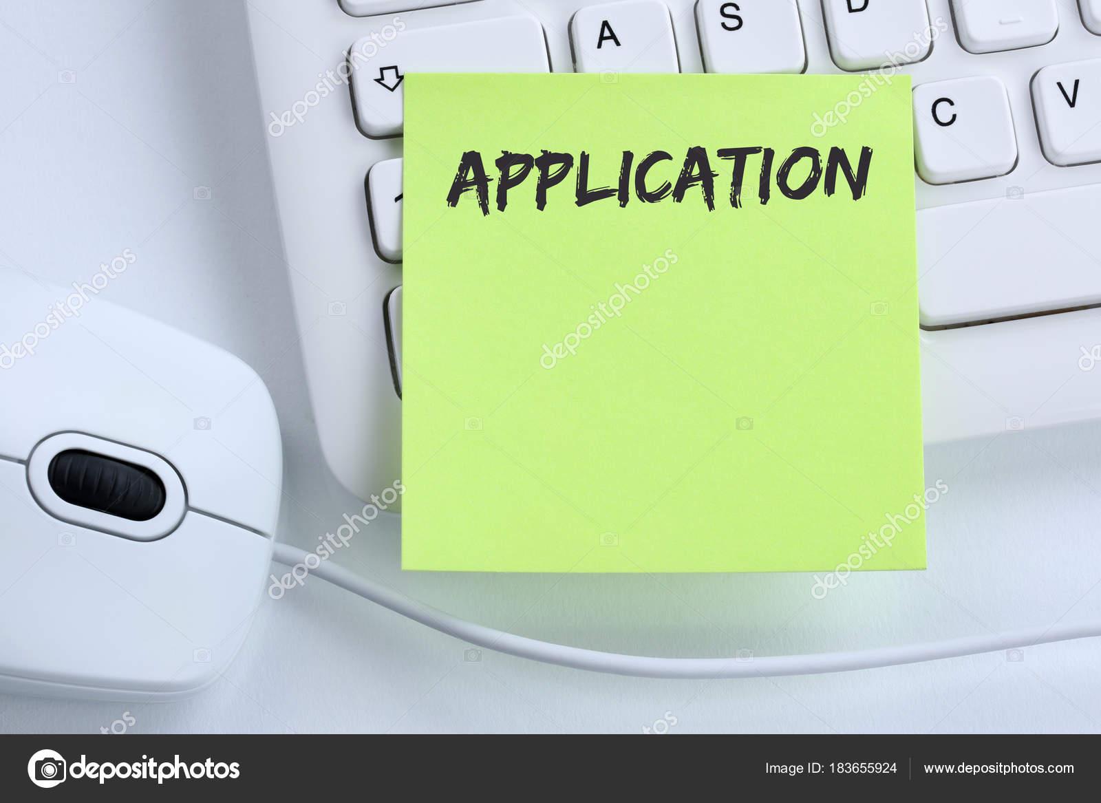 Jobs, Arbeit Rekrutierung Mitarbeiter Busine Anwendung — Stockfoto ...