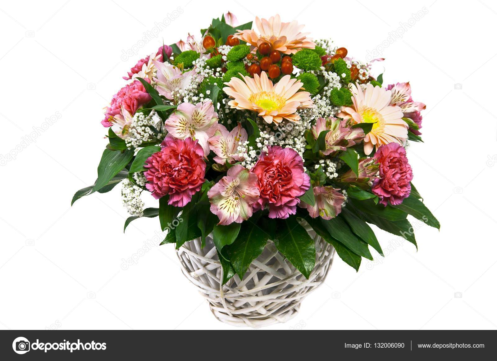 Beautiful bouquet of flowers — Stock Photo © Stockcrafter #132006090