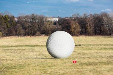 Huge golf ball