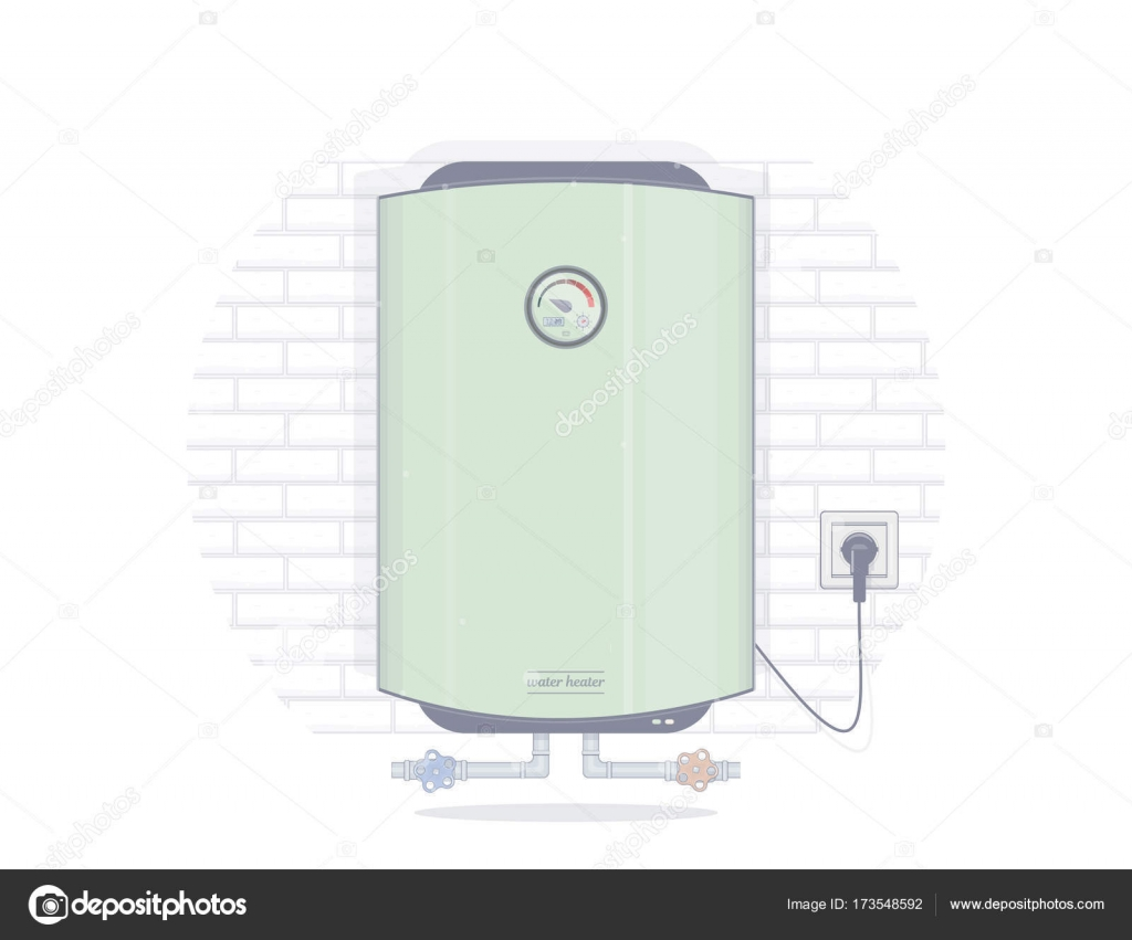 Water heater electric. Illustrations for the online store of ...