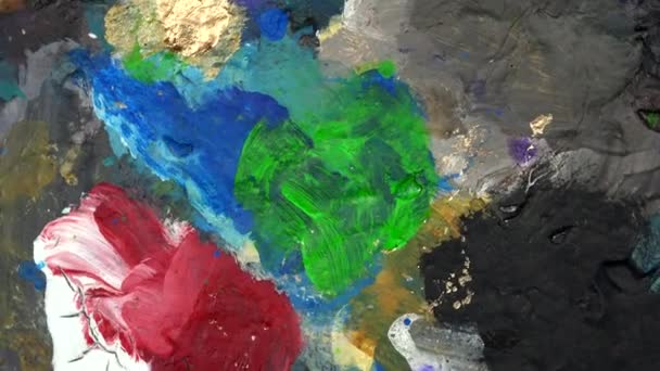 Farbpalette Farbdetail. Drehscheibe