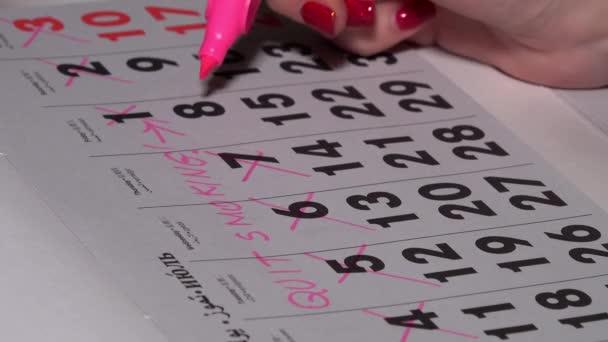 ruční, průchodnost dny v kalendáři. přestat kouřit plán