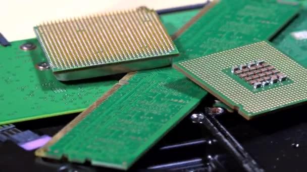 A mikrochip modern számítógép-alkatrészek