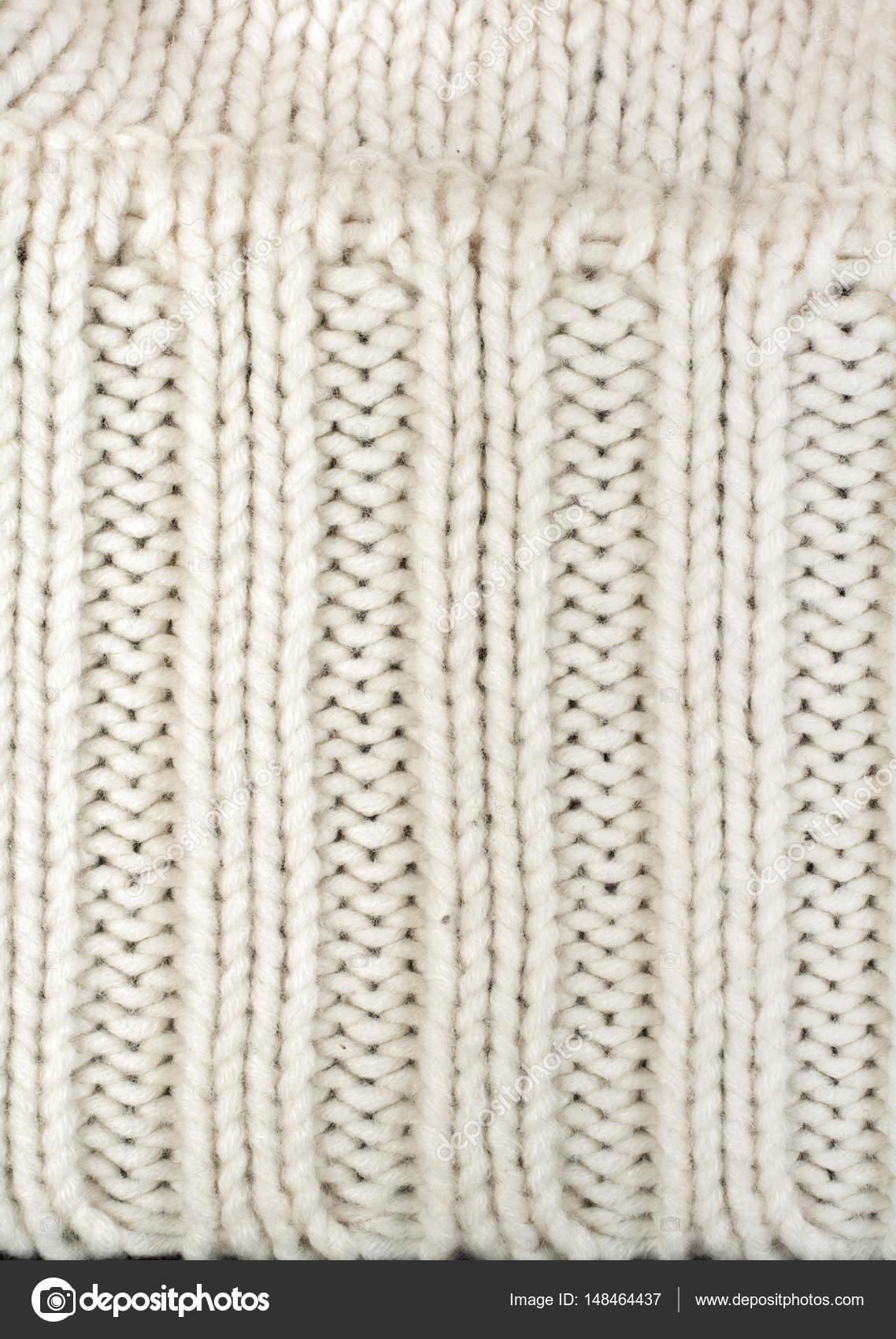 Jersey o bufanda tejido textura grande que hace punto. Fondo de ...