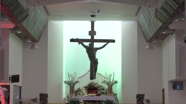 Jesus Christ on the Cross in the Church