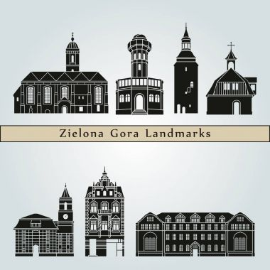 Zielona Gora Landmarks and monuments