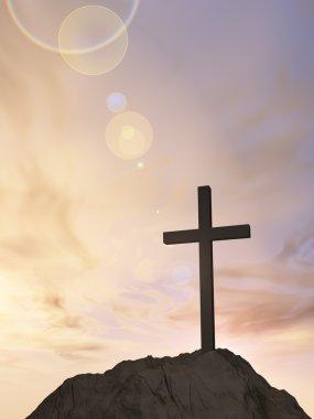 cross religion symbol shape