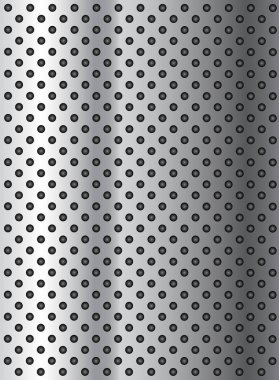metal stainless perforated pattern